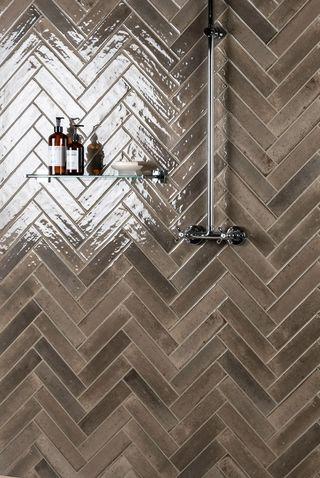 Hope Espresso Brick Effect Tiles, Walls and Floors, £36.95 (per SQM)