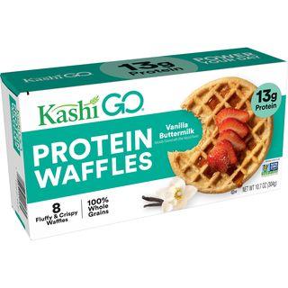 GO Frozen Vanilla Buttermilk Protein Waffles