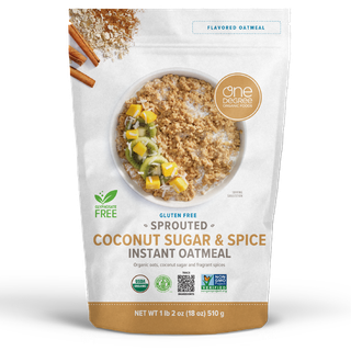 Sprouted Coconut Sugar & Spice Instant Oatmeal