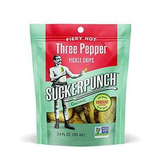3-Pepper Chip-Cut Pickle Snack Pack (Pack of 12)