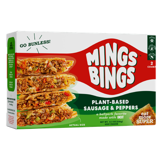 Plant-Based Sausage & Peppers Bing