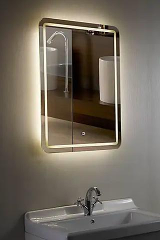 Chawston Illuminated Mirror, Dunelm, £120