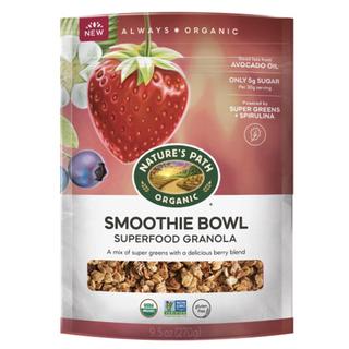 Organic Gluten Free Smoothie Bowl Superfood Granola