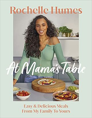 At Rochelle Humes' mother's table