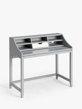 John Lewis & Partners Loft Desk, Grey/White