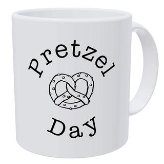 Pretzel Day Mug