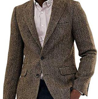 Tweed Herringbone Jacket