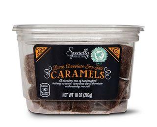 Dark Chocolate Covered Sea Salt Caramels