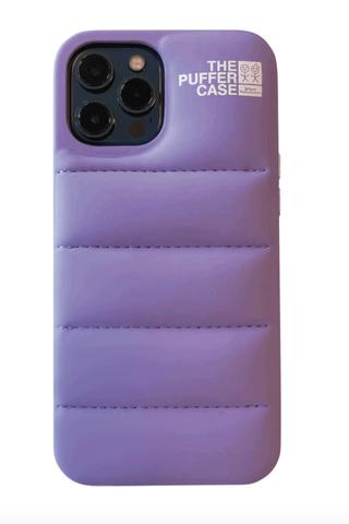 Lavender Puffer Case