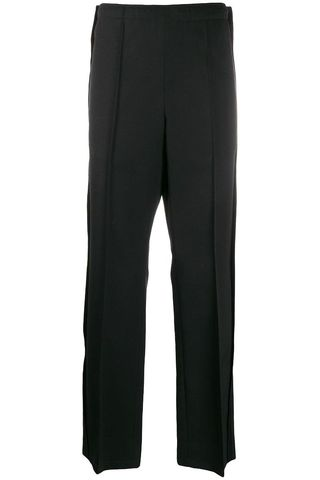 Front Pleat Tailored Trousers