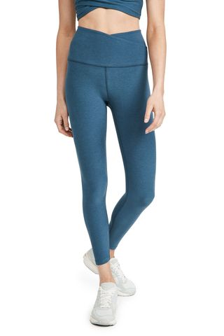 Spacedye At Your Leisure High Waisted Midi Leggings