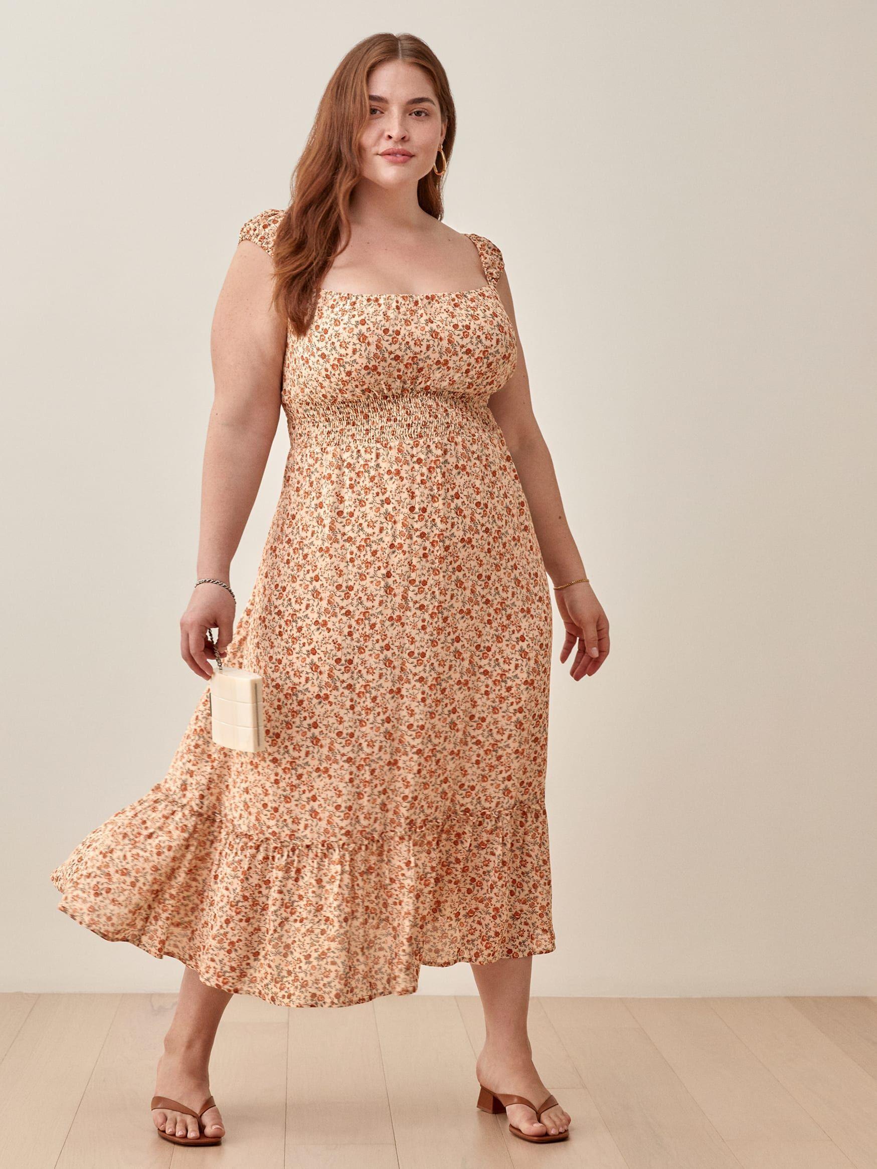Plus Size Sundresses for Weddings