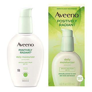 Aveeno Positively Radiant Daily Moisturizer SPF 15