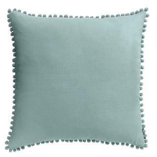 Country Living Linen Pom Pom Cushion