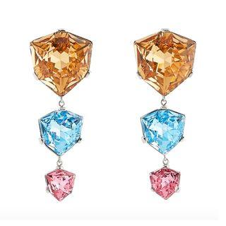 Triple Drop Earrings