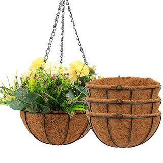 4-Pack Hanging Planters