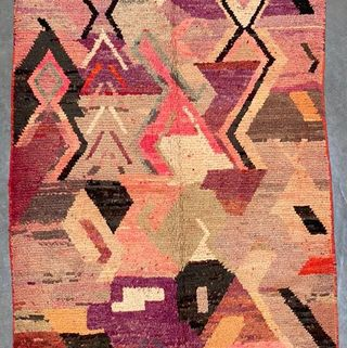 Moroccan Vintage Abstract Rug