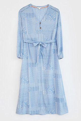 V-neck printed maxi dress, M&S, £ 45