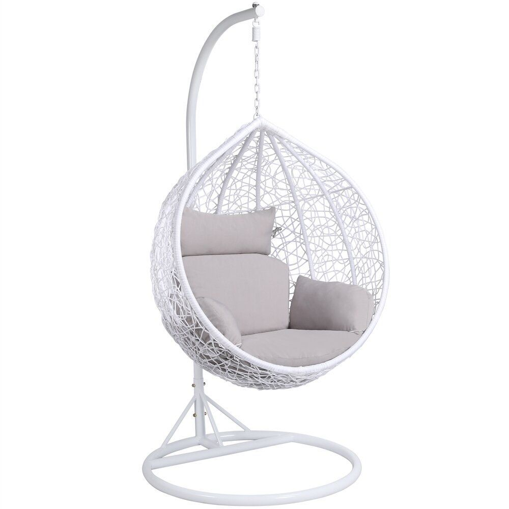 21 Hanging Egg Chairs To Garden, Outdoor Swing Chair With Stand Uk