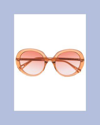 Esther Round-Frame Sunglasses