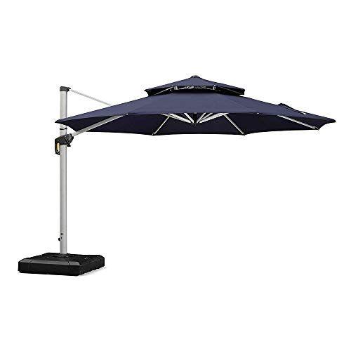 10 Best Cantilever Umbrellas For 2021, Articulating Patio Umbrella