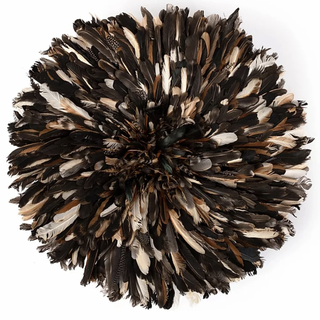 Natural Feather Juju Hat