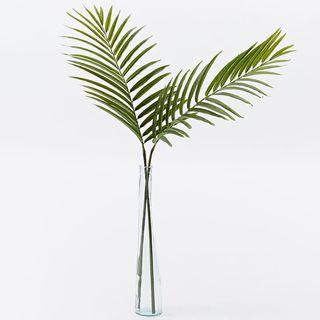 Faux Palm Plant Leaf