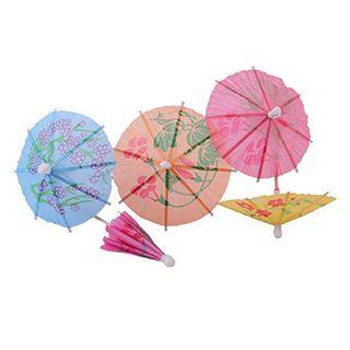 Tropical Drink Umbrella Picks