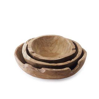 Teak Tree Root Bowl