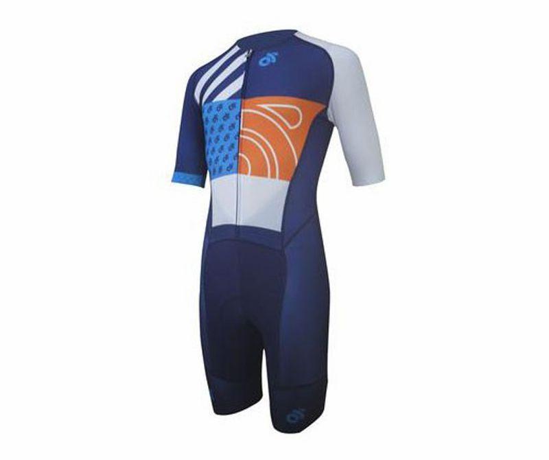 2021 N0H5P Road Racing Cycling Skinsuit Combinaison siamois Rembourré