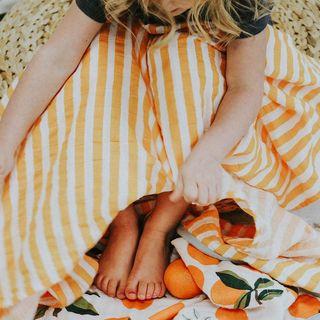 Clementine reversible quilt