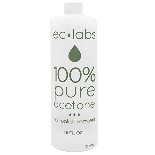 Removedor de esmalte de uñas de acetona 100% puro