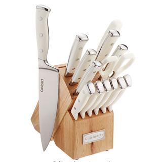 Cuisinart  Classic Forged Triple Rivet 15-Piece Knife Set