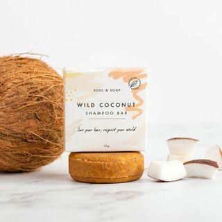 Barre de shampooing à la noix de coco sauvage