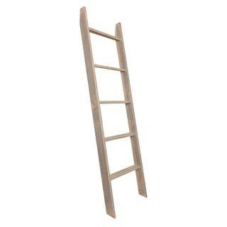 5-Shelf Wood Ladder