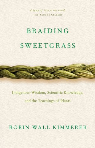 Sweetgrass braiding