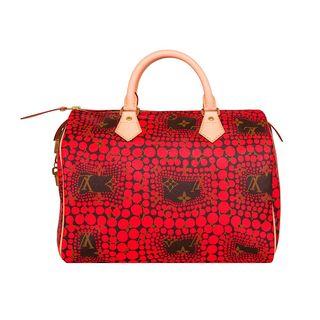 Limited Edition Kusama Speedy Handbag