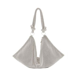 Hera Knotted Rhinestone Mini Shoulder Bag