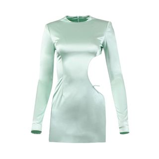 Ice Mint Mini Dress