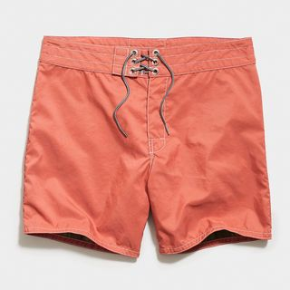 310 Stone-Washed Board Short in Paprika