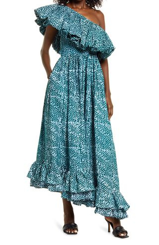 SIKA Sono One-Shoulder Midi Dress
