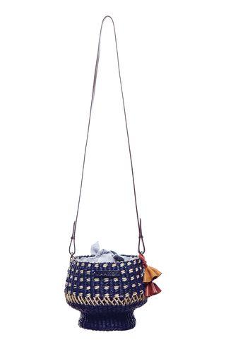 AAKS Mini Baw Pot Dot Bucket Bag