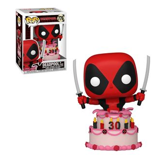 Deadpool Funko Pop's 30th Birthday Cake Topper!  figure