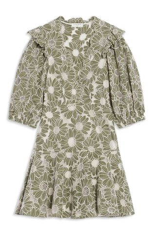 Audrey Cotton Lace Dress