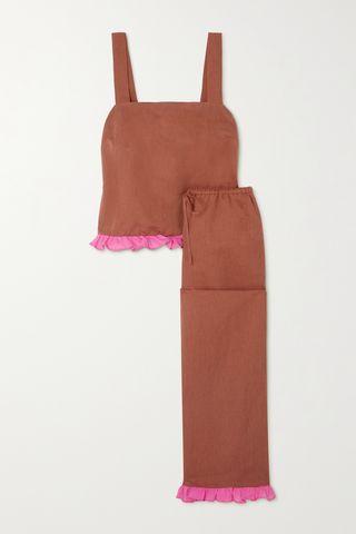 Cotton Blend Pajama Set
