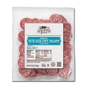 Appleton Farms Bite Size Salami Original or Spicy