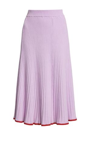 Felicia Rib-Knit Skirt