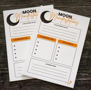 Moon Ritual Notepad