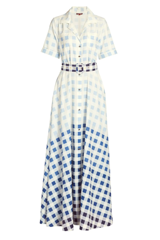 Millie Ombre Check Dress