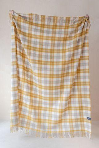 The Tartan Blanket Co. Checked Throw